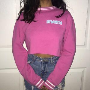 Odd future cropped sweater